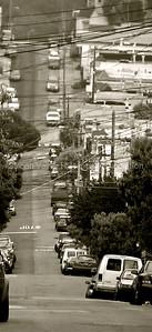 San Francisco neighborhood street near Cortland Avenue