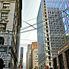 San Francisco Financial District at Clay & Montgomery Streets