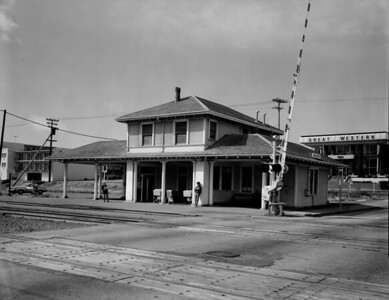 Southern Pacific Depot in Millbrae, California c. 1979