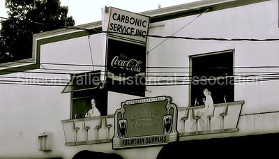 Carbonic Service Inc. signage in santa Clara, California