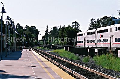 Caltrain Station in Palo Alto, California