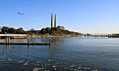 Harbor at Moss Landing, California