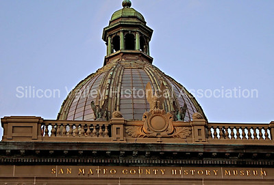 Domed Roof at the San Mateo County History Museum in Redwood City, California