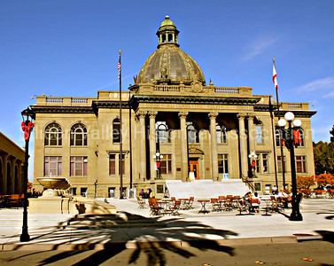 San Mateo County History Museum in Redwood City, California - Daytime