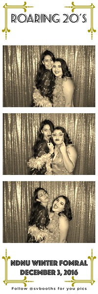 NDNU Formal Photo Booth