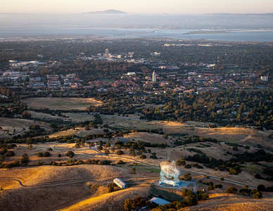 Stanford Dish to Mount Diablo