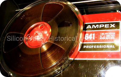 Ampex Professional 641 Polyester reel to reel audio tape