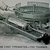 The First Typewriter - The Thurber