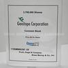 Genitope Corporation 2003 Open IPO Financial Commemorative