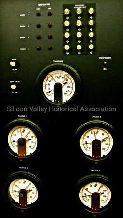 Chassis power controls and gauges