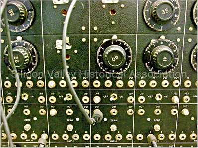 Analog computing flip switches and dials