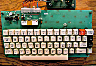 ASCII Alphanumeric Keyboard and Encoder