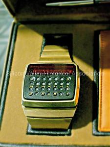 Hewlett-Packard Calculator Watch from 1977