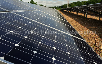 Array of solar panels