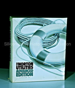 The Norton Utilities Advanced Edition Version 4.5 software from 1988