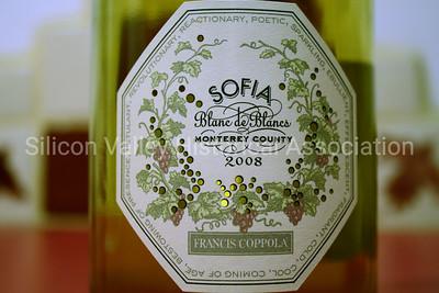 Francis Coppola SOFIA Blanc de Blancs Monterey County 2008 wine label