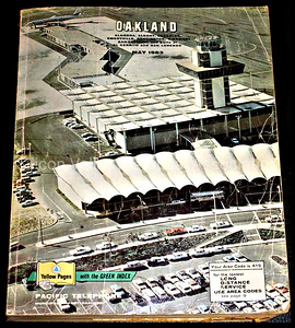 Oakland, California Yellow Pages phone directory from May 1963
