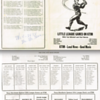 1961 Twin Cities Little League Roster and Schedule KTIM AM Radio San Rafael, California
