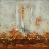 Burnt Orange-Hibberd, 40x40 canvas