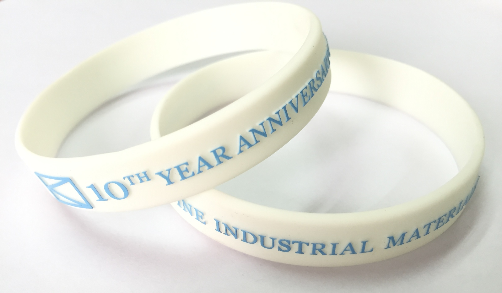 10TH YEAR ANNIVERSAKY PINE INDUSTRIAL MATERIALS ริสแบนด์