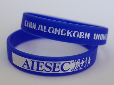 AIESEC Chulalongkorn University ริสแบนด์