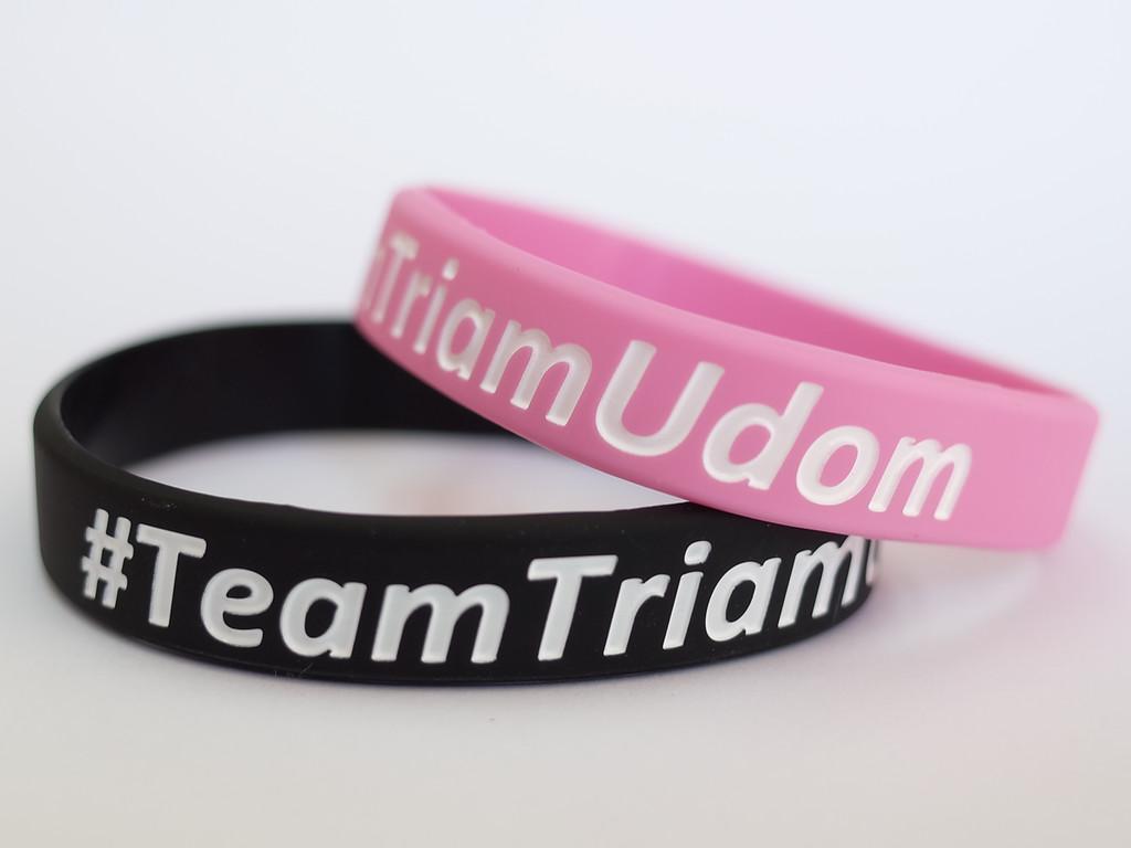#Team TriamUdom ริสแบนด์