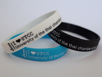 เด็กหอ I LOVE UTCC University of the thai chamber of commerce ริสแบนด์