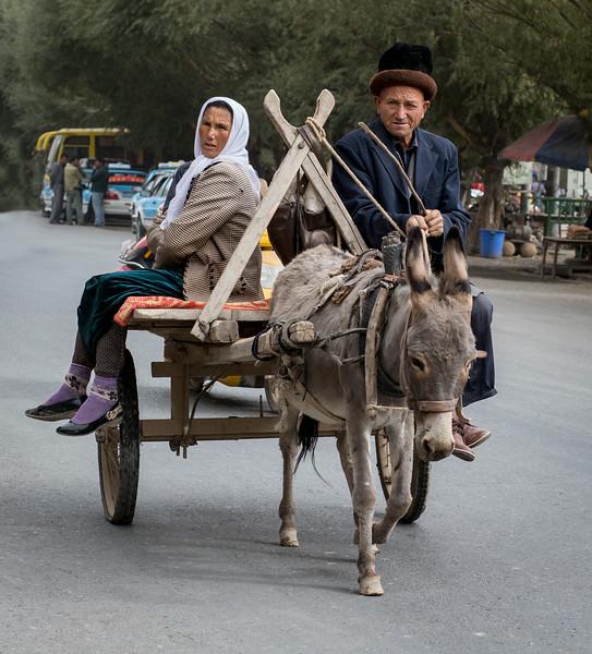 Opal Village, near Kashgar, China