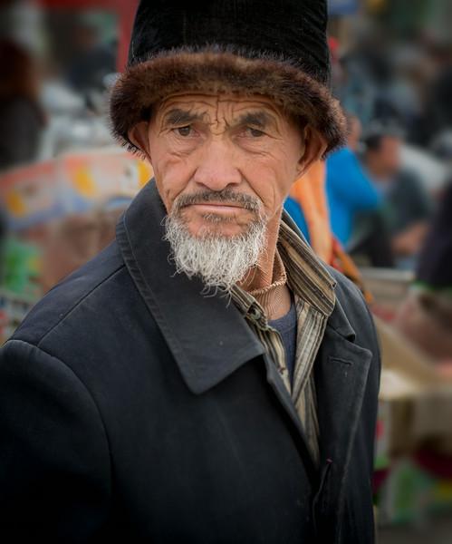 East Gate Bazaar, Kashgar, China