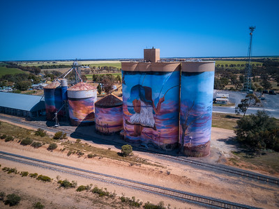 Sea Lake Silo Art Trail