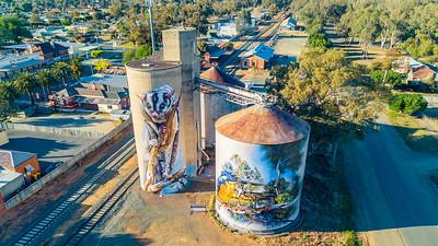 Rochester Silo - Silo Art Trail