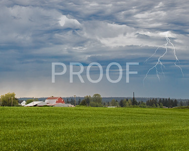 Thunderstorm in Arlington, WA