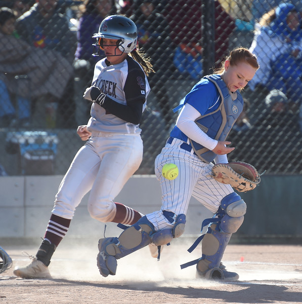 Silver Creek and Pueblo Central 4A  softball