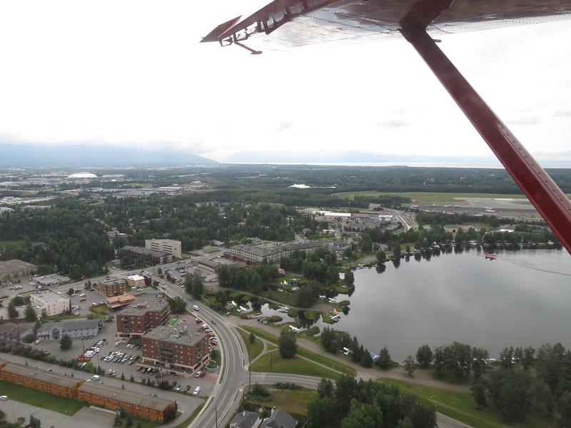 Inbound back to Lake Spinard