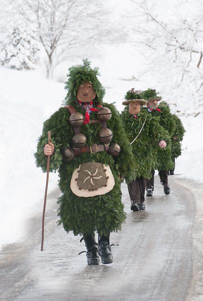 Silvesterklausen; Appenzell; Switzerland