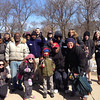 Living Green volunteers along with some of the  homeless in the City of Chicago ... the people that we are helping.