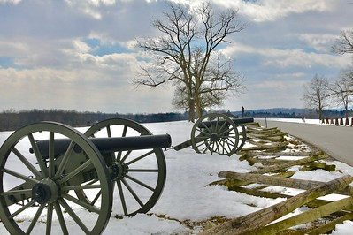 Cannons in the Winter