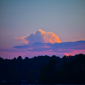 High Clouds at Sunset