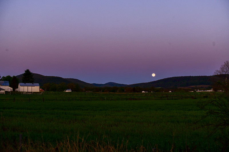 May 2020 supermoon -wide angle 2