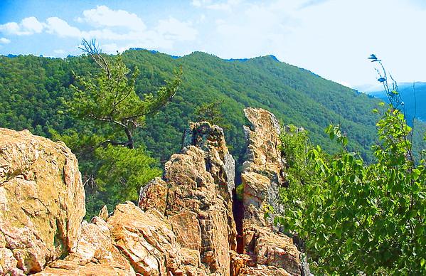 THE JAGGED EDGE OF SENECA ROCKS