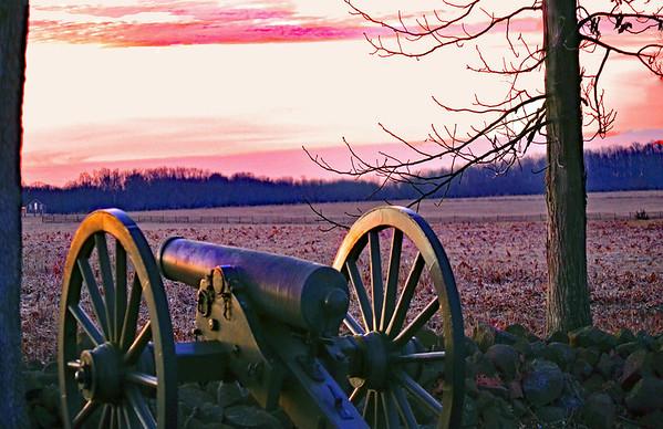 Cannon at Dawn