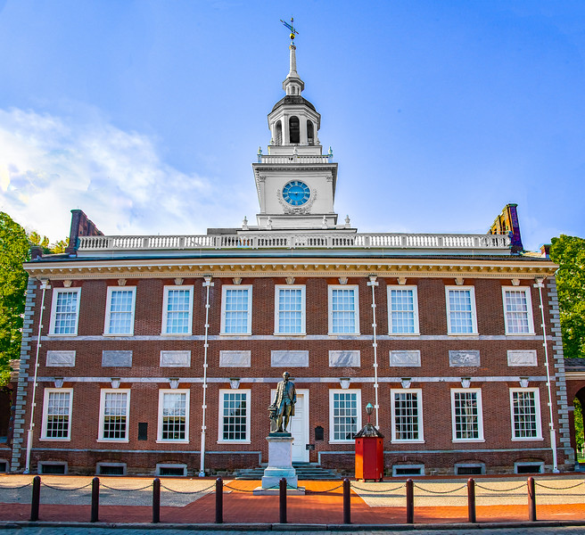 Independence Hall - close up