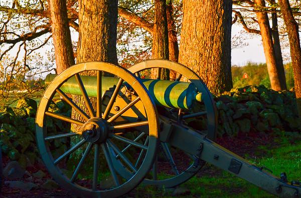 Battle artilery