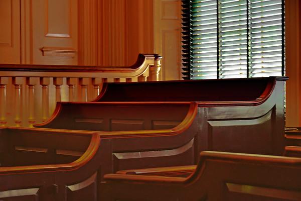 Philadelphia's early court room
