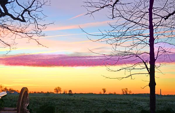Morning Skies over Gettysburg