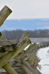 """The Civil War """"Worm"""" Fence"""
