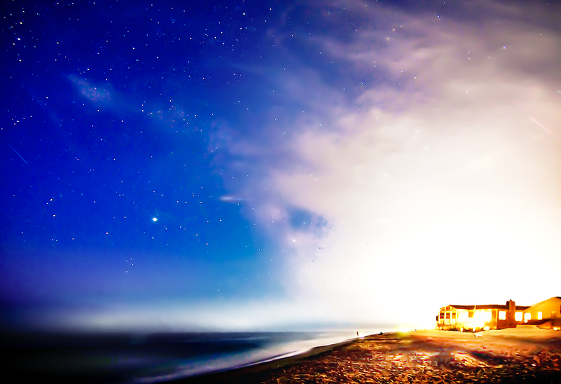 Sand, Sea, and Stars