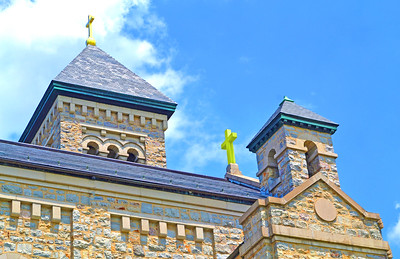 Chapel Roofs and Crosses