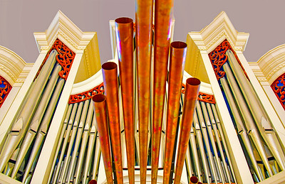 Pipes from the Lutheran Seminary Organ