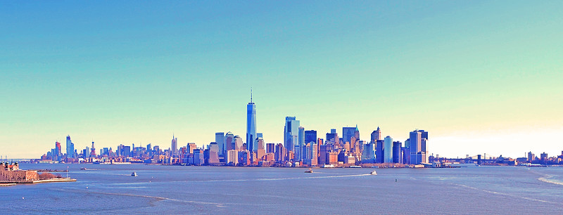 From Liberty Island to Manhattan